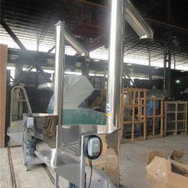 不锈钢螺旋上料机 粉末垂直螺旋提升上料机
