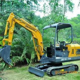YG30-9X小挖机标准配置推土铲可平整场地土方回填 增加整机稳定性