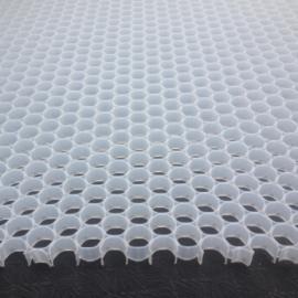 PP聚丙烯材质空气净化通风导流圆形孔塑料蜂窝片