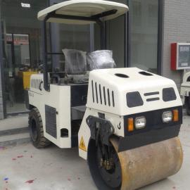 3吨全液压双钢轮压路机 小型压路机