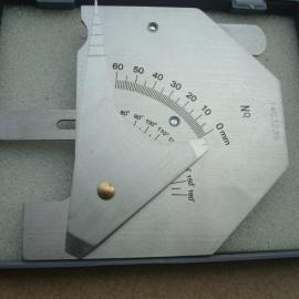 正品多功能不锈钢HJC60型焊接检验尺焊缝多功能检测尺