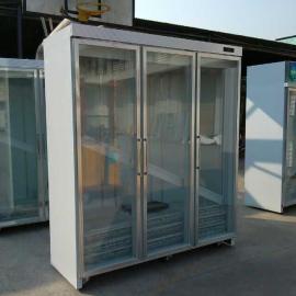 供应福建连锁便利店冰柜厂家/多门展示柜图片/三门外置机价格