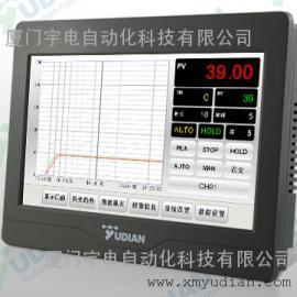 厦门宇电AI-3704M四路触摸式7寸显示报警记录仪