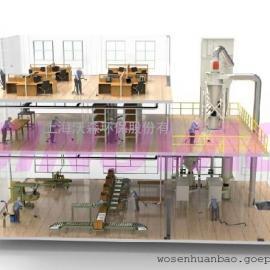 SINOVAC 中央工业吸尘器 中央真空清扫系统