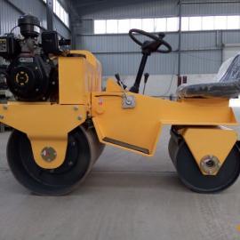座驾式压路机  小型座驾压路机  小型座驾式双钢轮振动压路机