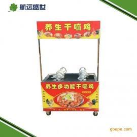 六排摇滚烤鸡鸭炉 摇滚烤鸡腿车 摇滚烤鱼车 越南摇滚烤鸡炉