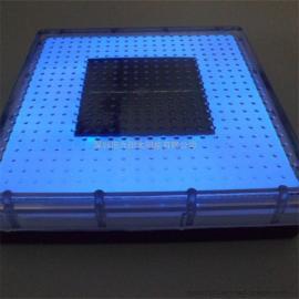 长方形太阳能地砖,广场步行街专用亮化太阳能LED地砖灯,