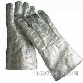 铝箔隔热手套 防火隔热耐高温冶炼烘焙耐500-1000度