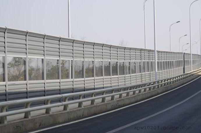 桥梁声屏障的特点