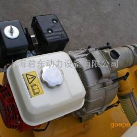 非开挖用3寸本田汽油机水泵|泥浆搅拌专用汽油水泵