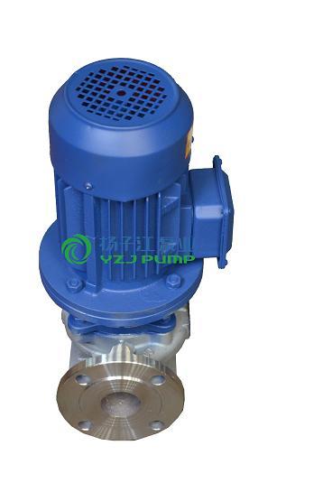 清水泵:IHG型立式单级单吸不锈钢防爆离心泵