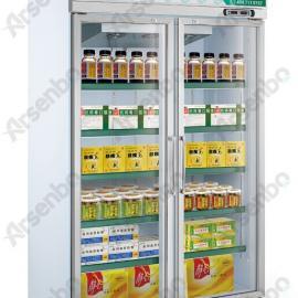 冷藏柜批发 药品展示柜 节能展示柜 冷藏柜订做 双门陈列柜