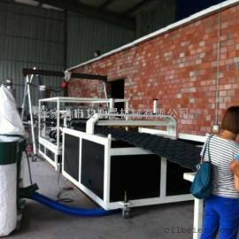 PVC防腐合成树脂瓦生产线
