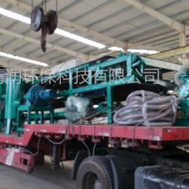 阳城热电厂脱硫污泥脱水机--DU带式真空过滤机--投资低