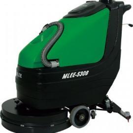 手推式洗地机 移动式电动洗地机 物业用电瓶式洗地机