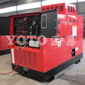 600A静音柴油发电电焊机