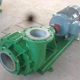 供热锅炉污水处理耐腐耐磨 UHB-ZK砂浆泵 卧式污水泵