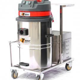 车间用电瓶式吸尘器 拓威克充电式工业吸尘器