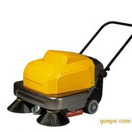 两个刷子电动扫地车明诺扫地小型电瓶式扫地机工厂吸尘清扫车