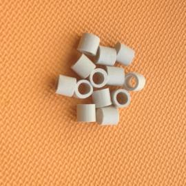 10mm陶瓷拉西环耐高温耐酸碱耐小塔小试中试实验填料