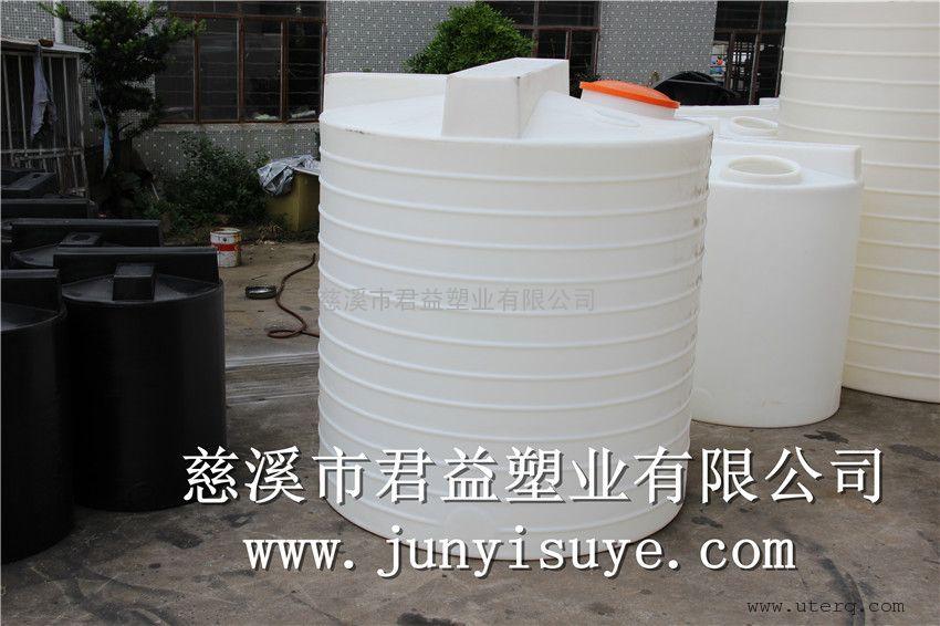 装次氯酸钠的聚乙烯加药桶5000升