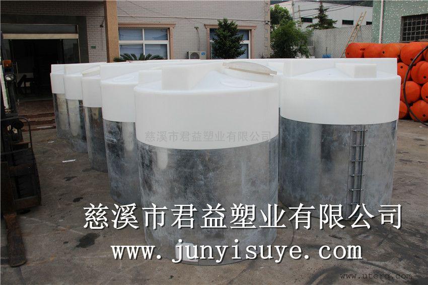 PAC储罐2立方聚乙烯材质