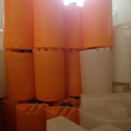 厂家供应80L塑料搅拌桶进口PE加药箱搅拌罐