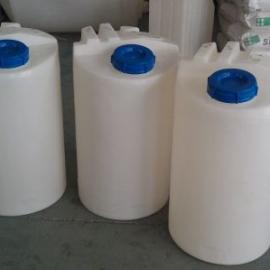 厂家供应加药桶/PE加药罐/80L加药箱/搅拌罐