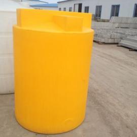 厂家供应塑料水箱1立方加药箱 耐腐蚀搅拌罐