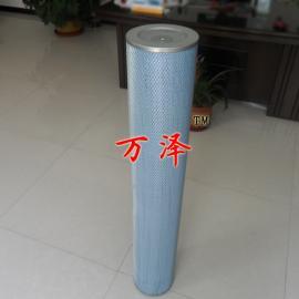 150×1750内外网除尘滤筒 蓝色高效除尘滤筒定做