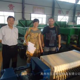 污水、污泥处理厢式压滤机、板框式压滤机