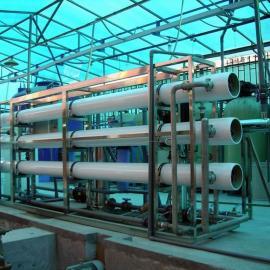 工业纯水制药水处理二级反渗透净化超滤循环水设备大型工程
