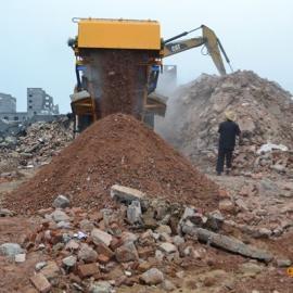 DPF建筑垃圾移动破碎站