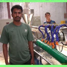 【pvc塑筋增强螺旋管生产线】pvc塑筋增强螺旋管生产线
