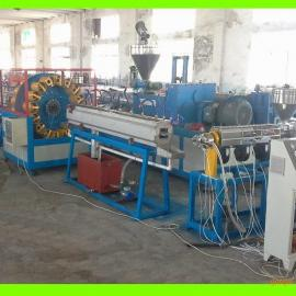 供应PVC纤维增强软管生产线 网格管生产线 塑料软管生产线