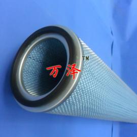 电厂内外网除尘滤筒 蓝色2米除尘滤筒万泽定做