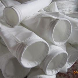 覆膜涤纶针刺毡滤袋,宁杰 覆膜除尘器布袋 防水防油收尘袋