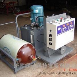 济南绿动CDZ液压系统专用充气机