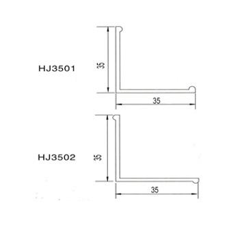 35角铝|铝材|铝材搭配|彩钢板铝材|铝合金型材|净化配件|净化产品