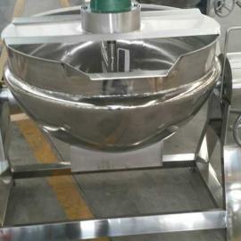 华远机械200L不锈钢蒜蓉酱自动搅拌炒锅