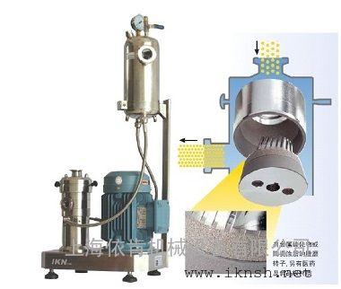 电池隔膜高速剪切研磨分散机