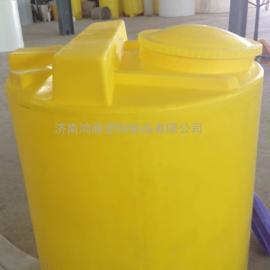济宁PE1500L加药箱搅拌机  PE水箱