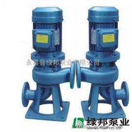 25LW8-22-1.1管道立式�o堵塞排污泵