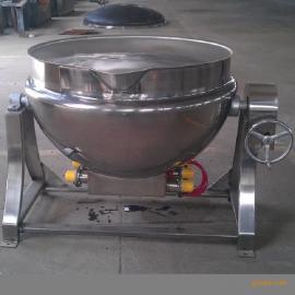 辣椒酱炒锅,不锈钢夹层锅,可倾斜夹层锅
