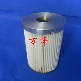 铝盖内螺纹粉尘滤筒 黑白色(可选)聚酯纤维粉尘滤筒长期生产