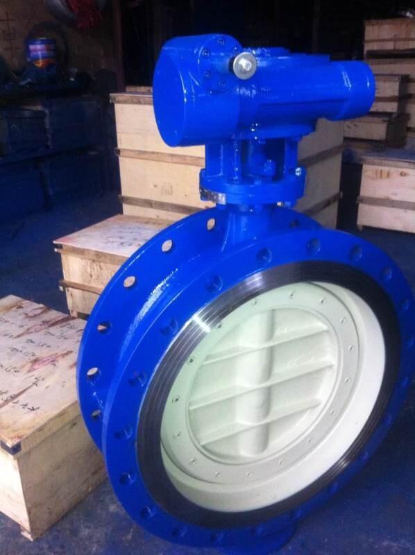 碳钢材质对夹式电动蝶阀D971H-16C DN100型
