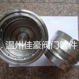 精品优质304不锈钢KZF卡套式双自封气动液压快速接头
