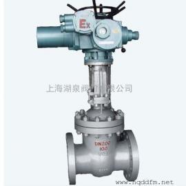 dn400大口径防爆闸阀MZ941h-16c矿用电动闸阀