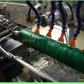 PVC牛筋螺旋管生产线SJ-65高效挤出机