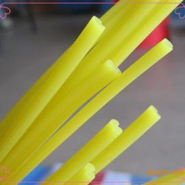 浅黄色双股5*3PE焊条